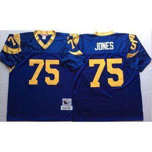 St. Louis Rams Deacon Jones Royal Jersey